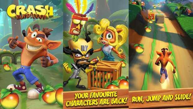 Crash Bandicoot se prepara para correr en Android e iOS