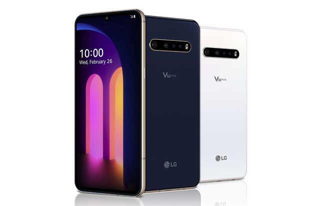 LG V60 ThinQ 5G móvil doble pantalla con Snapdragon 865 y gran batería