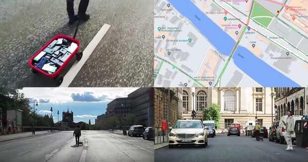 Simula tráfico falso con 99 teléfonos y engaña a Google Maps