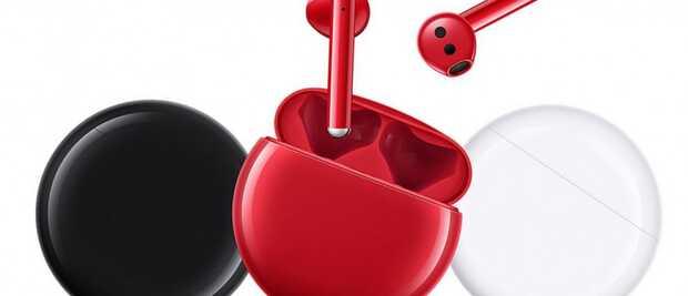 Nuevos FreeBuds 3 edición roja de Huawei para el Día de San Valentín