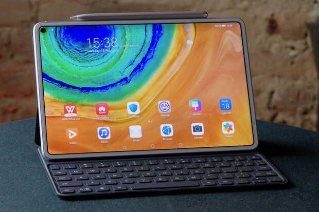 Nueva Huawei MatePad Pro 5G con Kirin 990 y carga inalámbrica