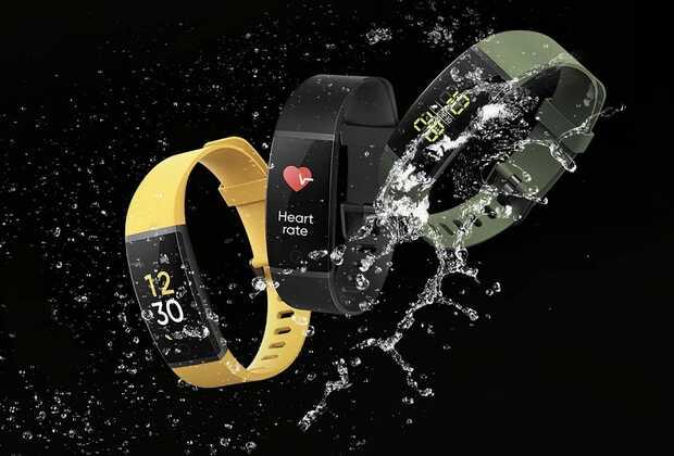 Realme Band pulsera inteligente con pantalla a color por 20 dólares