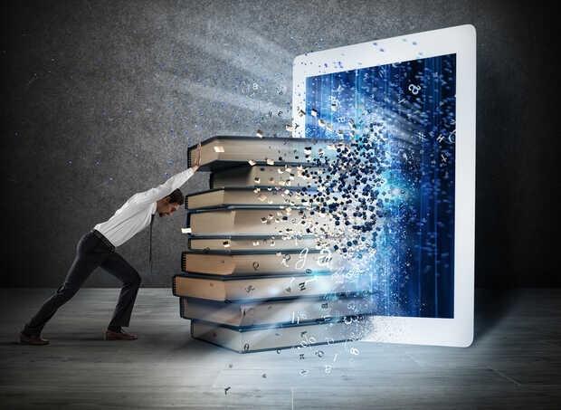 Liberan 1.4 millones de libros para pasar la cuarentena