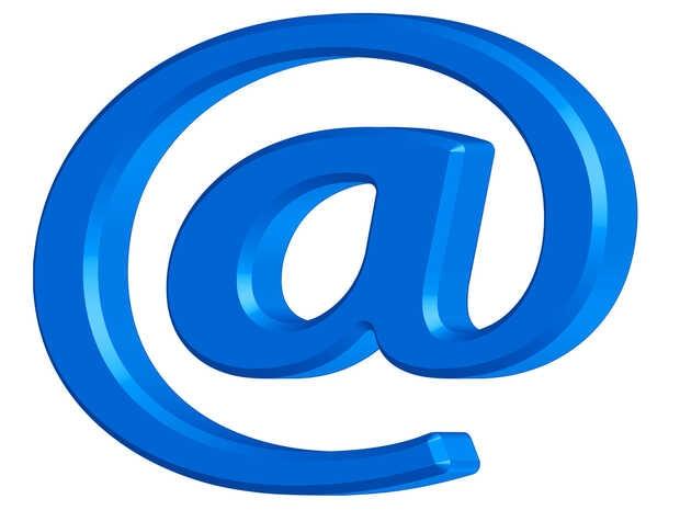 La arroba (@) fue usada en las direcciones de correo electrónico por su desuso
