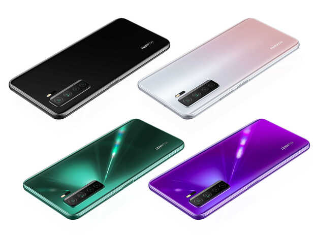 Huawei Nova 7, 7 SE y 7 Pro debutan con cámaras de 64 Mpx y carga rápida