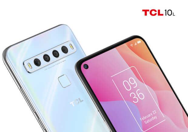Nuevos móviles TCL gama media con 4 cámaras y grandes baterías