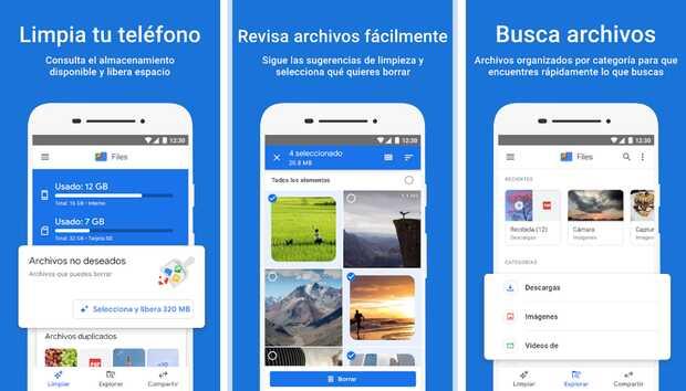 Mejores aplicaciones para liberar espacio en Android