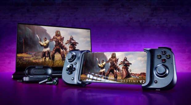 Adaptador Razer Kishi integra controles de videojuego al móvil