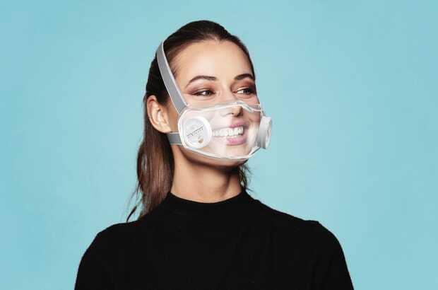 Mascarilla transparente para que vuelvas a mostrar tu sonrisa en tiempos de pandemia