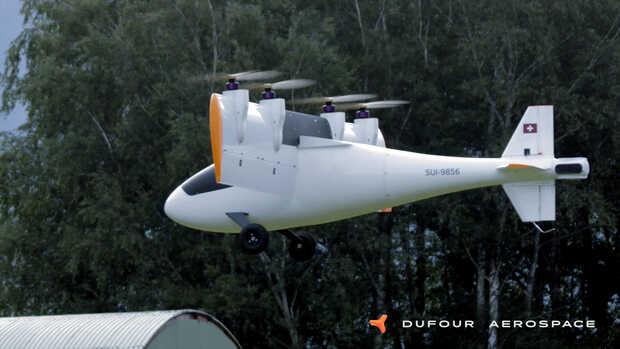 Prueban con éxito avión eléctrico que despega y aterriza en vertical