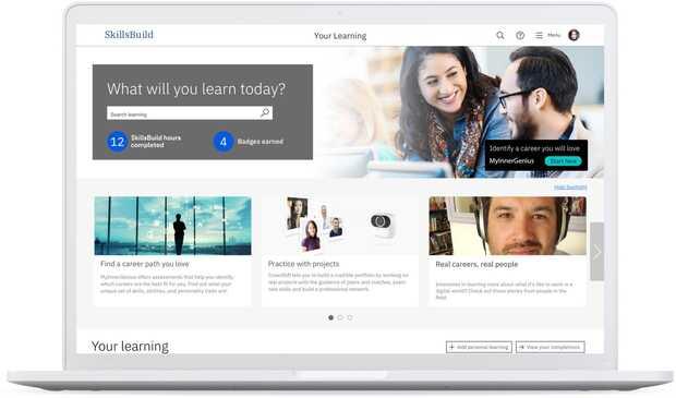 SkillsBuild de IBM te ayuda a encontrar empleo y de paso ofrece formación y contenidos digitales