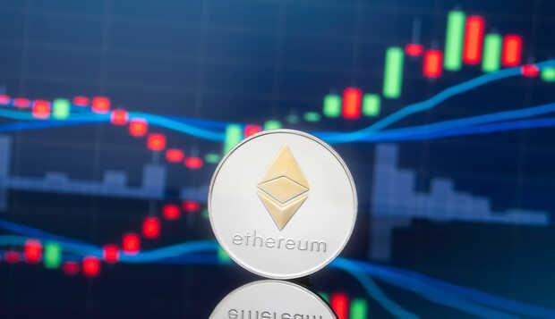 El precio de la criptomoneda Ethereum continúa aumentando