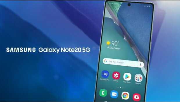 Galaxy Note 20 y 20 Ultra: video de presentación, fondos de pantalla y forro oficial