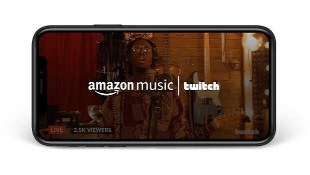 Amazon Music: artistas ahora pueden trasmitir vídeos en directo usando Twitch