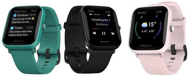 Reloj Amazfit Bip U llega con medidor de oxígeno en la sangre y monitoreo de estrés