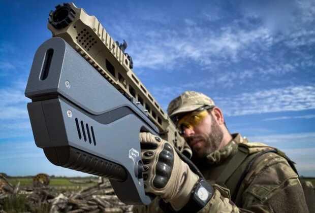 Pistola antidrones pequeña y liviana Paladyne E1000MP