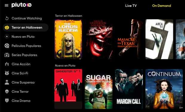 Pluto TV llega a España: canales y películas gratis con publicidad