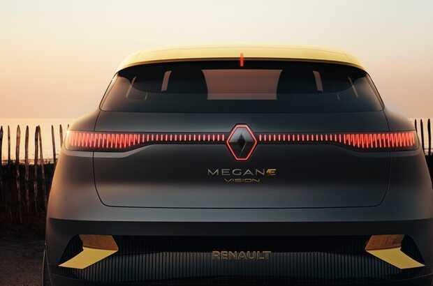 Renault Megane eVision:el futuro auto eléctrico según los franceses