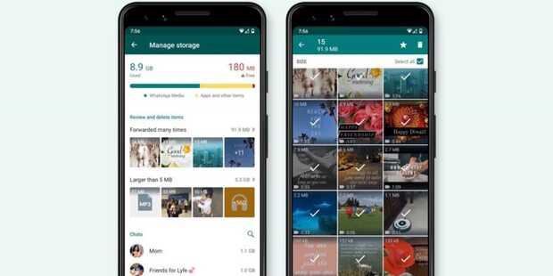 Cómo liberar espacio del móvil con la nueva eliminación masiva de archivos de WhatsApp