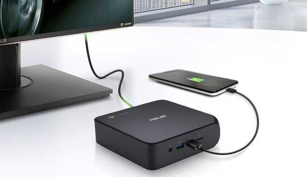 Mini PC Asus Chromebox 4 llega con procesadores Intel de décima generación