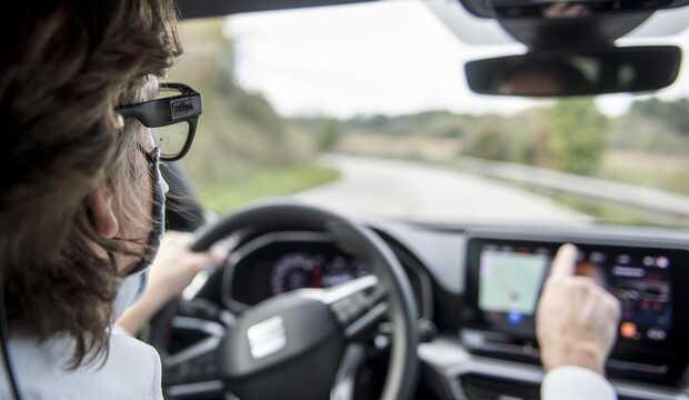Luz infrarroja y sensores del iris, el futuro de la seguridad en carretera
