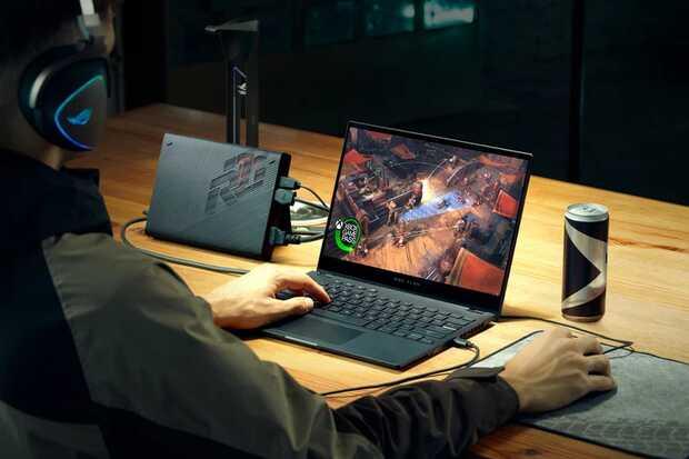 ROG Flow X13: primer portátil convertible gaming 2 en 1 de ASUS con tarjeta gráfica externa