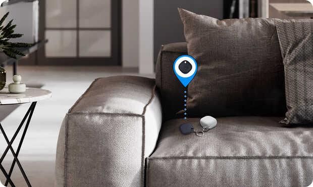 Nuevos rastreadores Bluetooth de Samsung para encontrar objetos perdidos