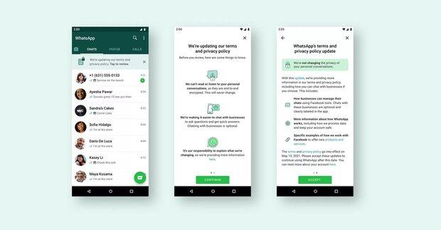 WhatsApp comparte planes para una nueva política de privacidad