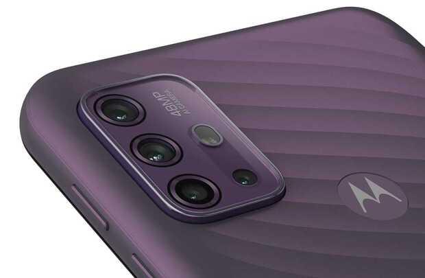 Económicos Moto G10 y Moto G30 llegan con cuatro cámaras y clasificación IP52