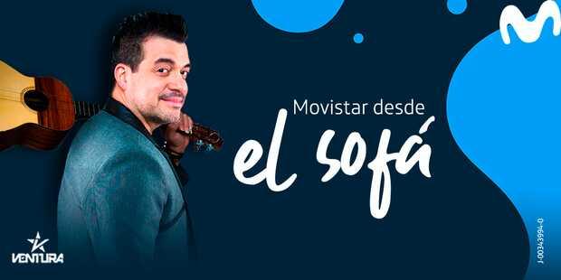 """Concierto virtual gratis al son del cuatro de Rafael """"Pollo"""" Brito desde el Sofá"""