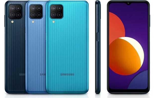 Samsung Galaxy M12 un nuevo celular con gran batería y cuatro cámaras