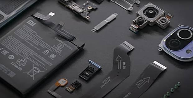 Así es el Xiaomi Mi 11 desarmado pieza por pieza