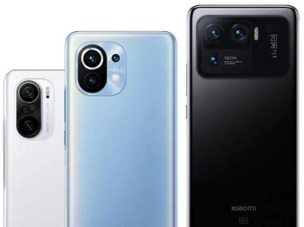 Serie Xiaomi Mi 11: Lista completa de todos los modelos recién lanzados, características y precios