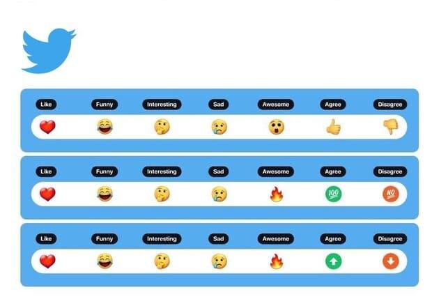 """Twitter experimenta uso de """"reacciones con emoji"""" al estilo Facebook"""