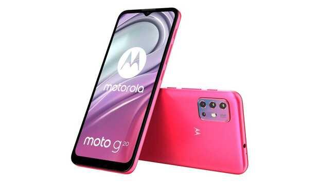 Moto G20 es el nuevo teléfono económico de la marca y su precio es...