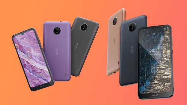 Nuevos y baratos Nokia G20 y G10 con gran batería y Nokia C20 y C10 con Android Go