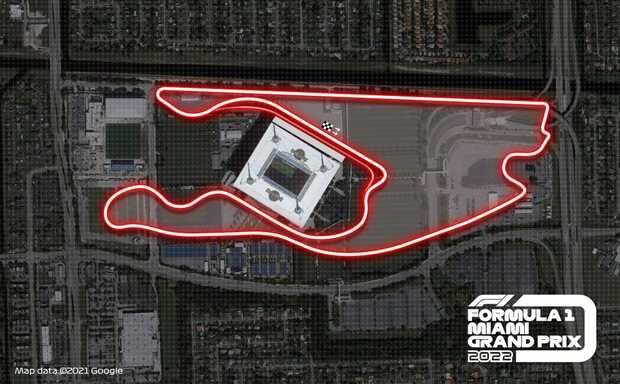 Gran Premio de Miami de F1 estrenará circuito veloz de 320 km/h en 2022