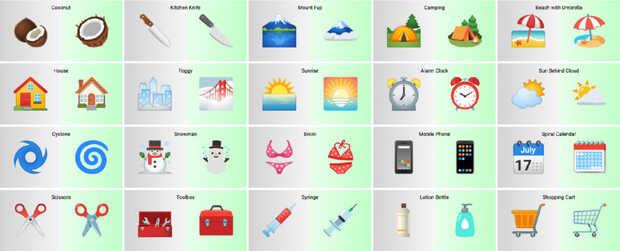 Aquí están los emoji rediseñados que debutan en Android 12