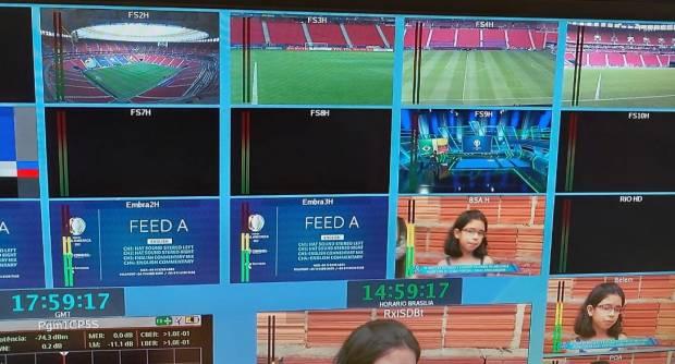 LiveU domina la cancha de la Copa America en Brasil