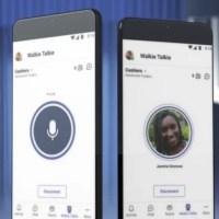 Función walkie talkie de Microsoft Teams llega a iOS