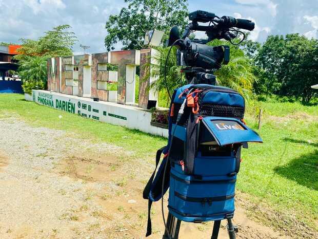 Histórica transmisión en vivo con LiveU desde la selva más peligrosa del mundo