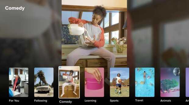 TikTok lanza app para televisores inteligentes LG de 2020 y 2021