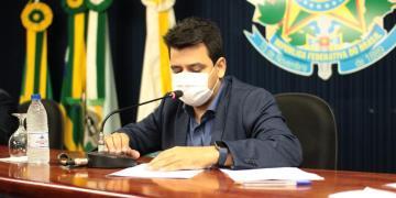 Presidente da Câmara critica projetos do Executivo. Foto: divulgação/Câmara SC.