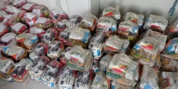 O objetivo da campanha é arrecadar alimentos para famílias carentes. Foto: divulgação/prefeitura de Goiânia.