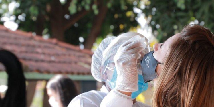 Médicos relatam problemas causados pela covid-19 em pacientes recuperados.  Foto: divulgação/prefeitura de Goiânia.