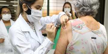 Vacinação em Goiânia continua nesta segunda-feira (19). Foto: divulgação/prefeitura de Goiânia.