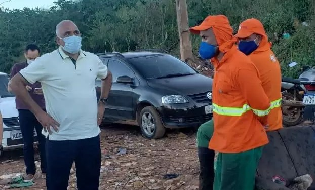 Construção de sala e banheiro no local será feita. Foto: divulgação/prefeitura de Goiânia.