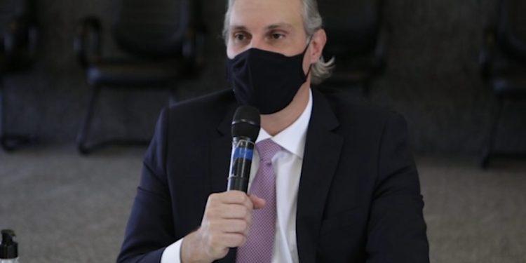 Secretário de Saúde anuncia flexibilização no comércio (Foto: Reprodução/Prefeitura de Goiânia)