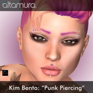 Altamura Punk Piercing Kim Bento Head