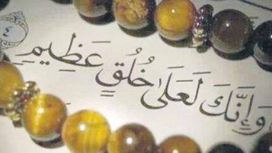 صورة دعوة قرآنية إلى الأخلاق